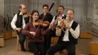Andri Mischol, Rita Rohrer, Evi Güdel-Tanner, Armin Müller und Lukas Erni von der Husistein-Musik.