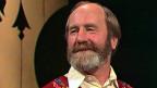 Hausi Straub in der Sendung «Oeisi Musig» im Jahr 1983.