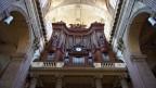 Orgel in einer Kirche.