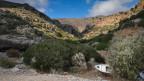 Landschaft in den Bergen Griechenlands.