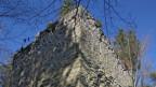 Der Bergfried der Burg Obermaggenberg.
