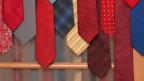Verschiedenfarbige Krawatten.