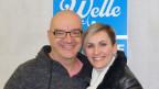 Geraldine Olivier und Moderator Christian Salzmann.