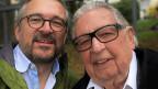 Selfie von zwei Männern.