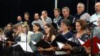 Chor beim Proben.