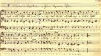 Notation von Ferdinand Fürchtegott Huber.