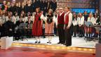 Franziska Wigger und Franz-Markus Stadelmann bei «Die grössten Schweizer Hits».
