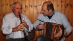 Vater Roger und Sohn René Degoumois beim gemeinsamen Spiel.