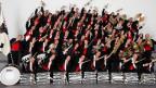 Gruppenfoto der Musikgesellschaft Harmonie Appenzell.