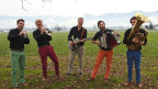 Das Rex Quintett bedient sich an bekannten Melodien aus verschiedenen Stilrichtungen