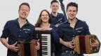 «uufwind» mit Aron Lötscher, Simone Lötscher, Florian Schuler und Marcel Koller.