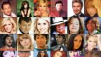 Verschiedene Schlagerinterpreten in einer Collage.