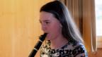 Eva Engler spielt Klarinette.