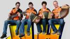 Das Schwyzerörgeliquartett «Nume Hüt» spielt im traditionellen Bernerstil.