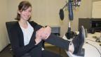 Marlene Roth mit ihren «Bödelärschuhen» – umfunktionierte Stepptanzschuhe aus Irland