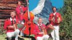 Das Schwyzerörgeli-Quartett Ned zum lose ist im gewissen Sinne eine Haus-Formation des Hotels Continental Zermatt.