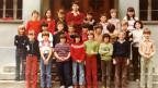 Gruppenfoto mit Lehrer, Schülerinnen und Schülern.