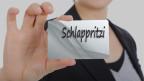 Tafel mit dem Wort Schlappritzi.