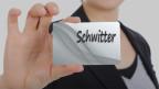 Eine Tafel mit dem Namen Schwitter.