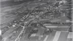Luftaufnahme aus 600 Meter von Lyss, 1922.