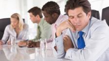 Audio «Sitzungen – zwischen Produktivität und Zeitverschwendung» abspielen