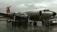 Audio «Swissair eröffnet 1947 die Linie Genf-New York» abspielen