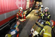 Audio «Hunderte übten den Notfall im Lötschberg-Basistunnel» abspielen