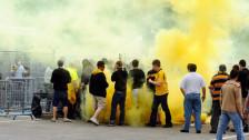 Audio «Berner Kantonsparlament will schärfere Gesetze gegen Hooligans» abspielen