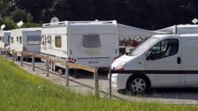 Audio «Freiburg lässt Fahrende und Lastwagenfahrer zusammen campieren» abspielen