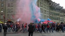 Audio «Cupfinal in Bern: Scharmützel und kaputte Schaufenster» abspielen