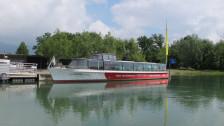 Audio «Hochwasser bremst Aareschifffahrt aus» abspielen