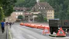 Audio «Mattequartier: Die Aare sinkt unter die Schaden- und Alarmgrenze» abspielen