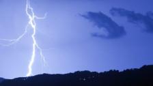 Audio «Gewitter richtet im Kanton Bern Schäden an» abspielen