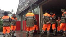 Audio «Weiterer Regen: Die Situation bleibt angespannt» abspielen