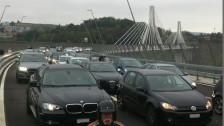 Audio «Mehr Stau wegen der neuen Poyabrücke» abspielen