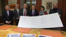 Audio «In zwei Jahren soll Moutier zwischen Bern oder Jura wählen» abspielen