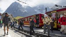 Audio «Asiatischen Gästen sei Dank: Jungfrau-Bahnen mit Rekordgewinn» abspielen
