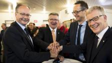 Audio «Bürgerliche zementieren Mehrheit im Freiburger Staatsrat» abspielen