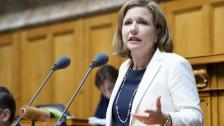 Audio «Parteileitung der FDP Kanton Bern will Markwalder im Ständerat» abspielen