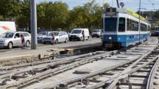 Audio «Tram Affoltern überholt Rosengarten-Tram» abspielen