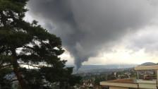 Audio «Massive Zugsausfälle nach Grossbrand in Schlieren» abspielen