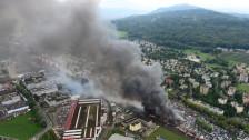 Audio «Grossbrand in Schlieren: SBB-Hauptverkehrsachse wieder offen» abspielen