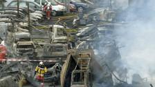 Audio «Grossbrand in Schlieren: Der Schaden geht in die Millionen» abspielen