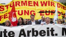 Audio «Friedlicher 1. Mai in der Stadt Zürich» abspielen