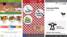Laschar ir audio «Digitip – Cuschinar cun app? Cler. Ma: Tgenina?».