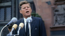 Laschar ir audio «John F. Kennedy».