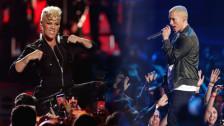 Laschar ir audio «Pink & Eminem: «Revenge»».