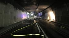 Laschar ir Audio «Co sa depurtar en cas da brischament en in tunnel?»