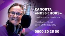 Laschar ir Audio «La canorta sa prepara per il Festival da la chanzun rumantscha»