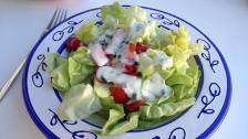 Audio «Praktisch: Joghurt-Salatsauce aus dem Konfitürenglas» abspielen